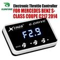 Автомобильный электронный контроллер дроссельной заслонки гонки ускоритель мощный усилитель для MERCEDES BENZ S-CLASS C217 2014 тюнинг Запчасти аксесс...