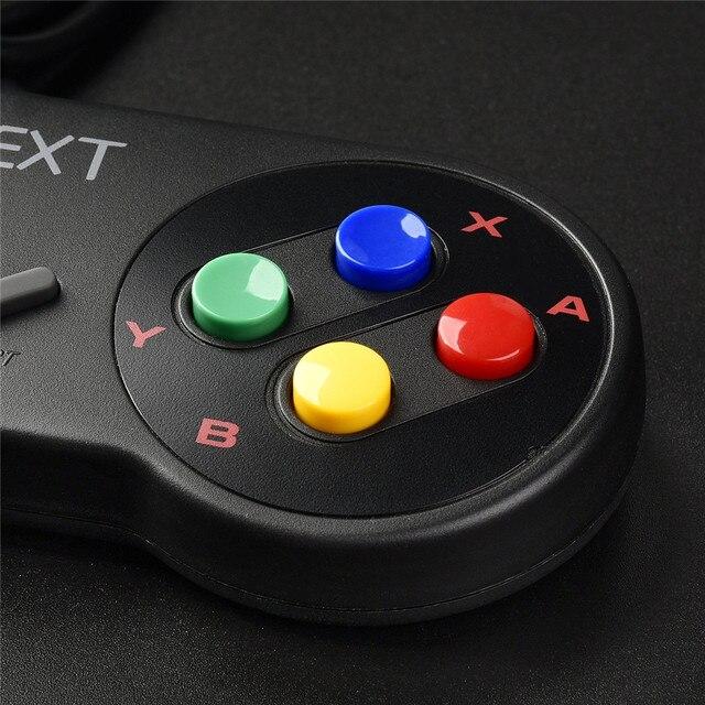 4 pçs snes usb controlador de jogo gamepad para nintendo snes almofada de jogo para windows pc mac raspberry pi