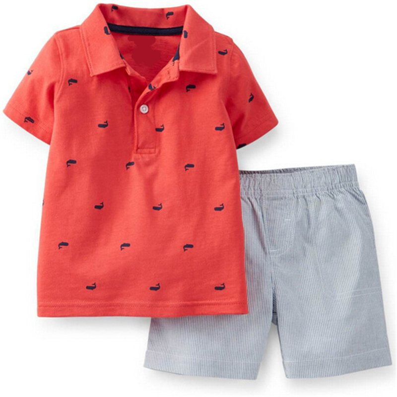 Cotton Baby Outfit Sale 2017 Summer Fashion Baby Boy