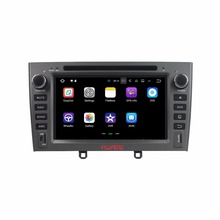 "Klyde 2 Din 7 ""Android 7.1 Reproductores multimedia para coches para Peugeot PG 408 2007-2010 coche Radios estéreo reproductor de DVD audio CANbus Quad Core"
