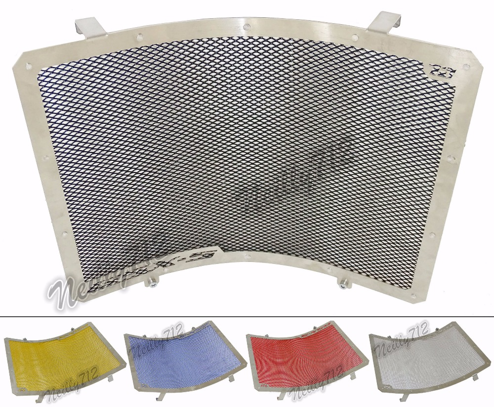 waase Radiator Protective Cover Grill Guard Grille Protector For Suzuki GSX S1000 GSX S1000F GSXS 1000