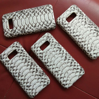 New For Samsung GALAXY S8 5 8 Famous Brand Luxury Natural Python Snake Skin Genuine Leather