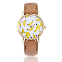 New PU Watch Leather Strap Women Watches Casual Beautiful Simple Round Shape Analog Business Quartz Wristwatch for ladies