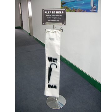 New Products All Metal Stainless Steel Wet Umbrella Bag Stands
