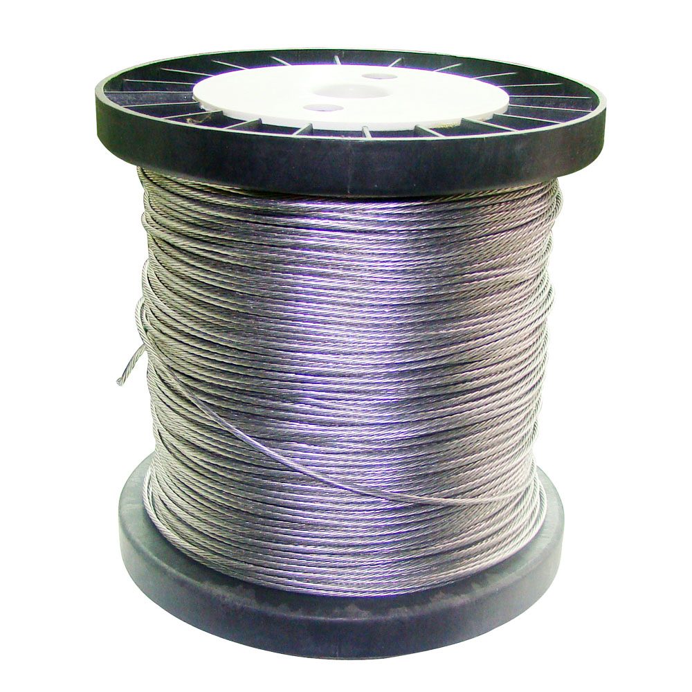Stranded Aluminium Alloy Wire 2.0 Mm Diameter, 250 Meters Per Roll For Electric Fence