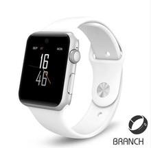 Heiße bluetooth Smart Uhr HD Screen Unterstützung SIM Karte Tragbare Geräte SmartWatch Für apple Android pk A9 dz09 gt08 IWO 2 uhr