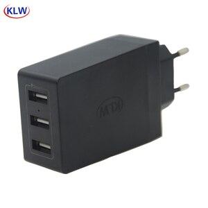 Image 1 - 3 منافذ الذكية USB شاحن 6A المحمولة شواحن الهاتف المحمول السفر USB الجدار شاحن آيفون سامسونج LG هواوي شاومي