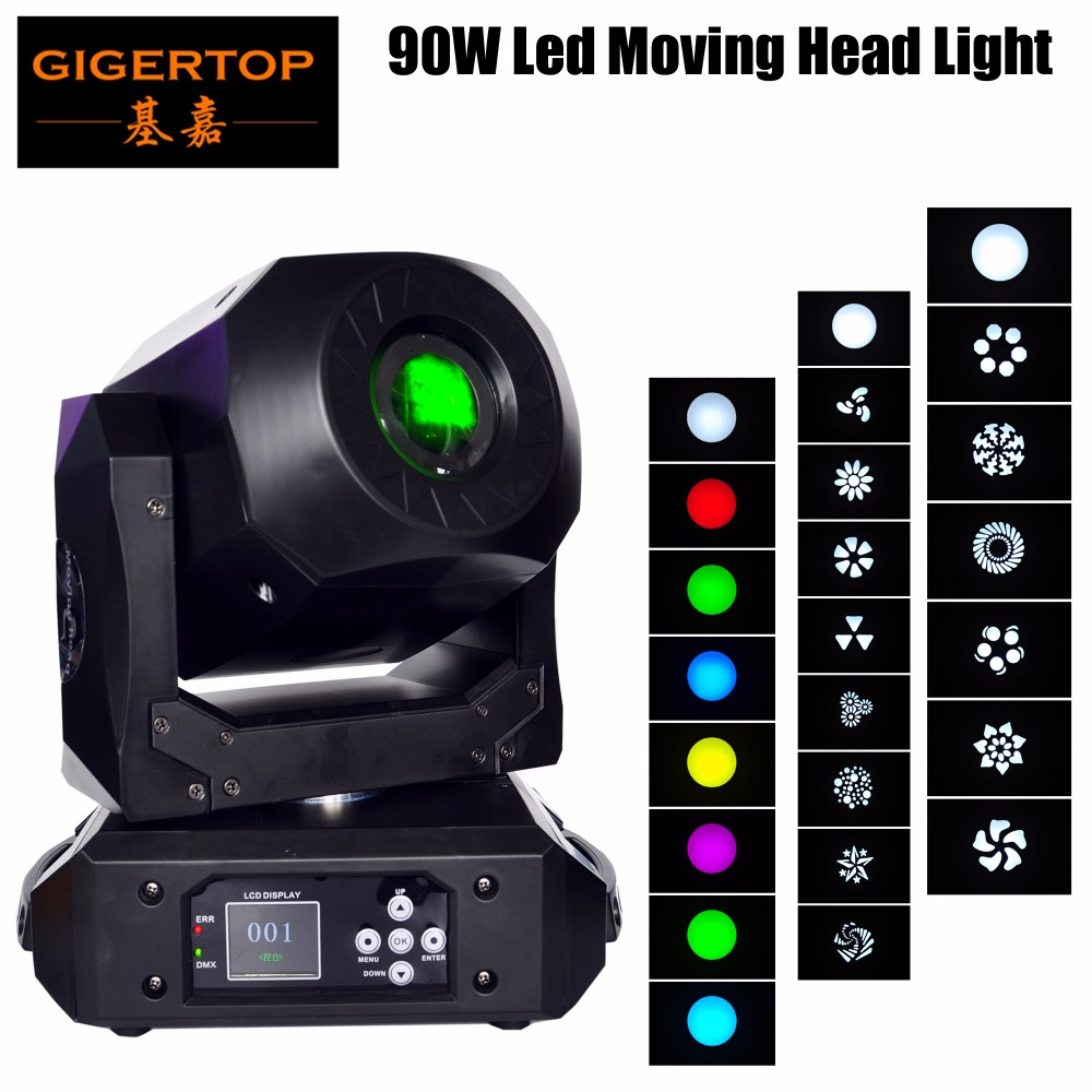 Gigertop New TP L606E 90W Led Moving Head Light Compacted Size High Brightness For DJ Dancing