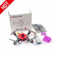 Happymodel Sailfly X 2S  3S Micro Fpv Racer Mini Drone Crazybee F4 Pro V2.1 Aio Vlucht controller 1102 Borstelloze Motor