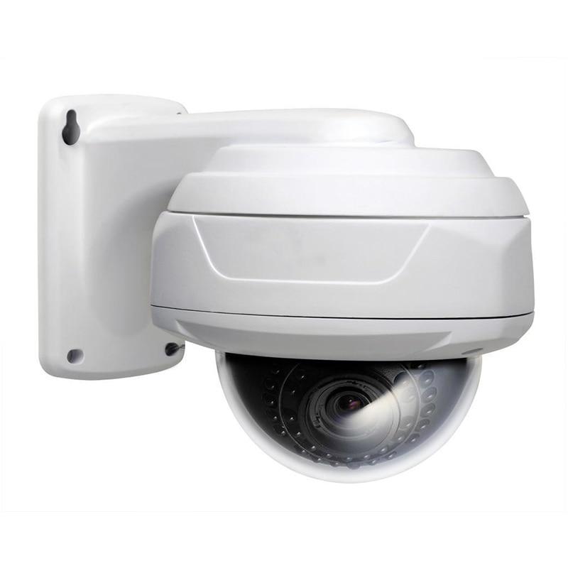 ФОТО Analog HD CCTV Camera 1080P 4in1  ADH/TVI/CVI/CVBS mini IR Dome 2.8-12 focus lens with Metal brackt