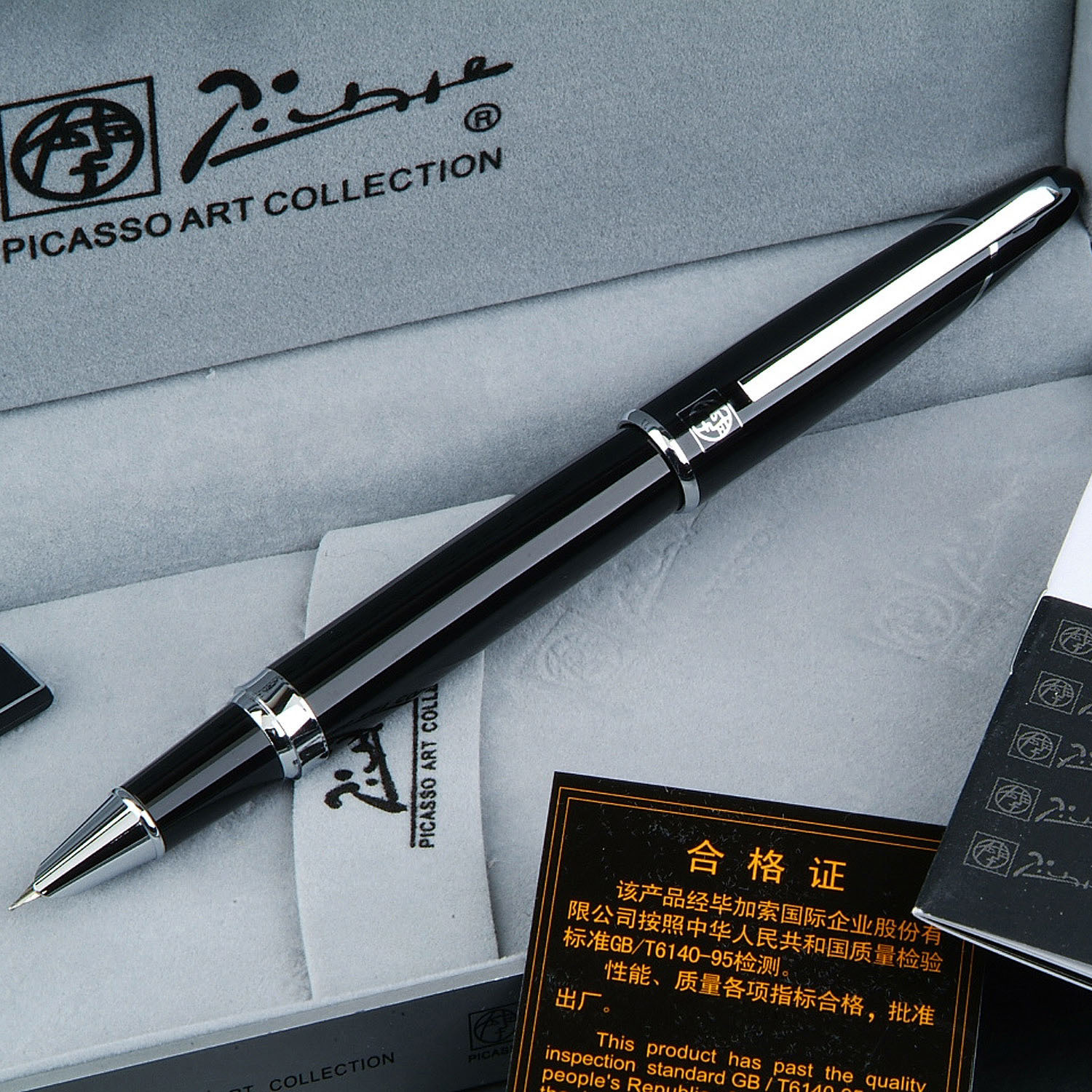 Picasso Baroque fountain pen high quality finance extra-fine pen free shipping