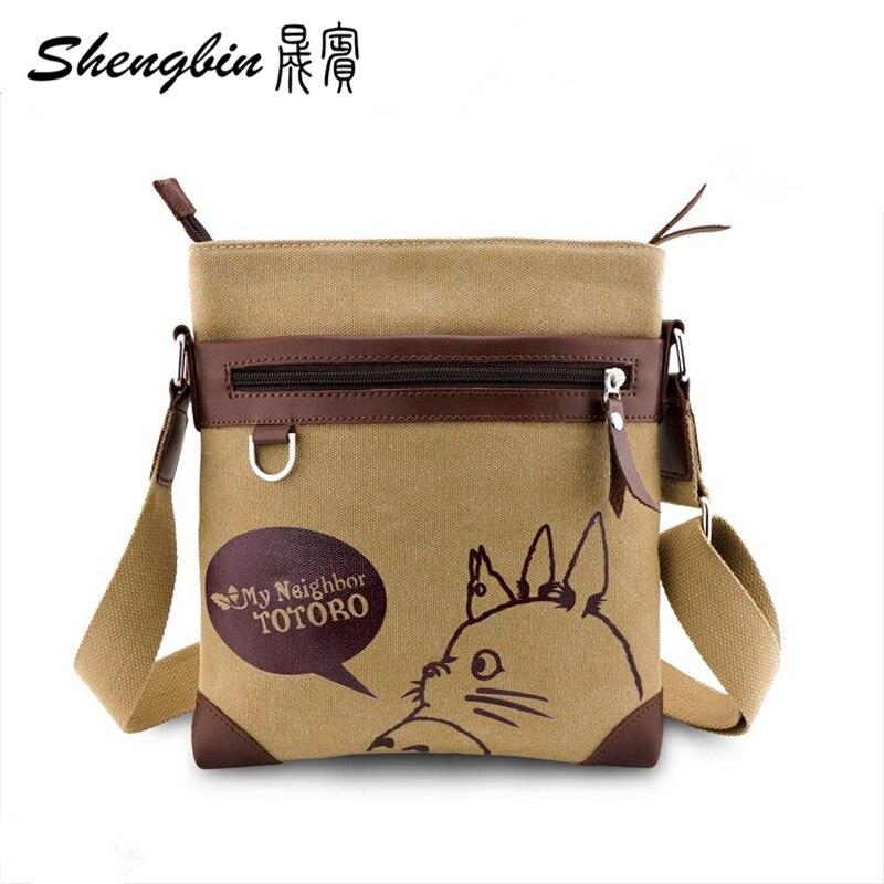 Anime My Neighbor Totoro Messenger Canvas Bag Shoulder Bag Sling Pack My  Neighbor Totoro Cosplay Tonari