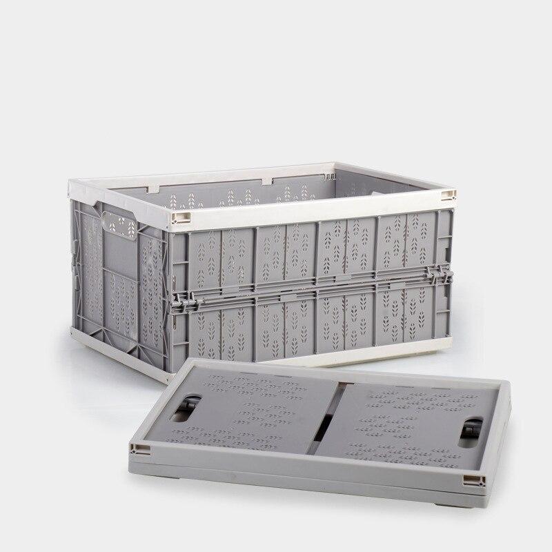 Foldable Plastic Stackable Kitchen Storage Basket For Vegetable Houseohld Table Top Sundries Home Organizador Basket Organizer