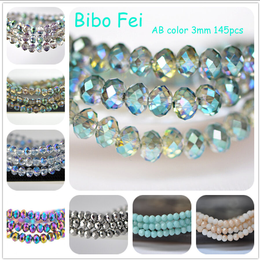 Crystal Bead Beads: Aliexpress.com : Buy Free Shipping Multi Color 3mm 145PCS