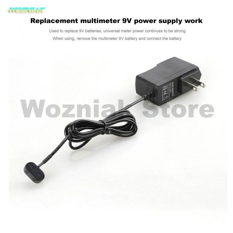 Wozniak waluty multimetr zasilacz 9 V zastąpić multimetr pojemności elektrycznej liniami narzędzie do konserwacji drutu w Zestawy elektronarzędzi od Narzędzia na
