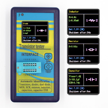 Specjalna wersja wielofunkcyjny tester próbnik elektroniczny 128*160 dioda tyrystor pojemnościowy rezystor indukcyjności MOSFET ESR miernik przebiegu