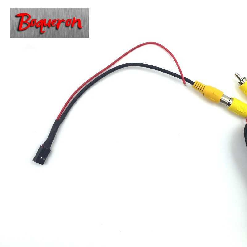 Connection Cable for Nissan Qashqai / Juke / Dualis 2007~2013 Reversing Camera to OEM Monitor / Original screen transit line