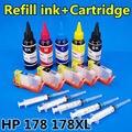 Hp178 178xl cartucho de tinta de recarga de tinta 500 ML ( kit de recarga ) C5383 C5380 C6380 C6383 D5460 D5463 C309c C310 C309a C309g 7510