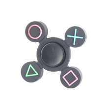 2017 Four Leaves EDC Finger Spinner Autism And ADHD Rotation Time Long Anti Stress Finger Gyro Led Hand Spinner Toy For Kids