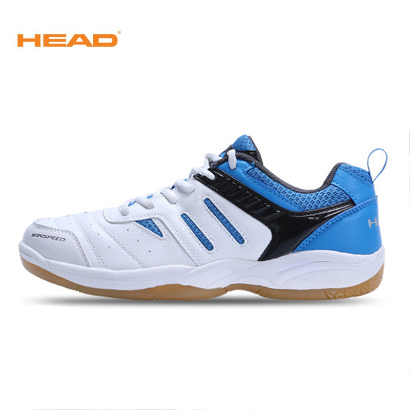 HEAD Original Men Badminton Shoes Breathable Professional Tennis Shoes Sport Sneakers Badminton Shoes For Male Women Lightweight professional cushioning volleyball shoes unisex light sports breathable shoe women sneakers badminton table tennis shoes g364