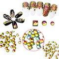 1440 unids/100 unids Cristal Hotfix Rhinestones para Uñas Nail Art Decoración DIY Cristal Pixie Nail Art Accesorios de belleza
