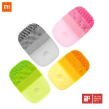 Xiaomi inFace электрическая щетка для чистки лица Массажер ультразвуковой скруббер для кожи инструмент силиконовая машина для глубокого очищения лица