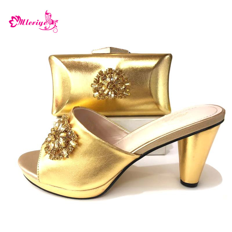 Latest Women Shoe and Bag Set African Matching Shoes and Bags Italian In Women Shoes and Bags To Match Set Sale for Party doershow italian shoes and bag set women shoe and bag to match for parties latest green color lady matching shoes and bag ul1 4