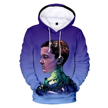 New StrangerThingsTV Mens Personality Hoodie 3D Print Pullover Fashion Casual StrangerThingsTVSports
