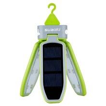 Складной светодиодный фонарь на солнечной батарее