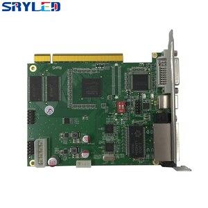 Linsn TS802D отправка карты, полноцветный синхронный светодиодный дисплей управления картой