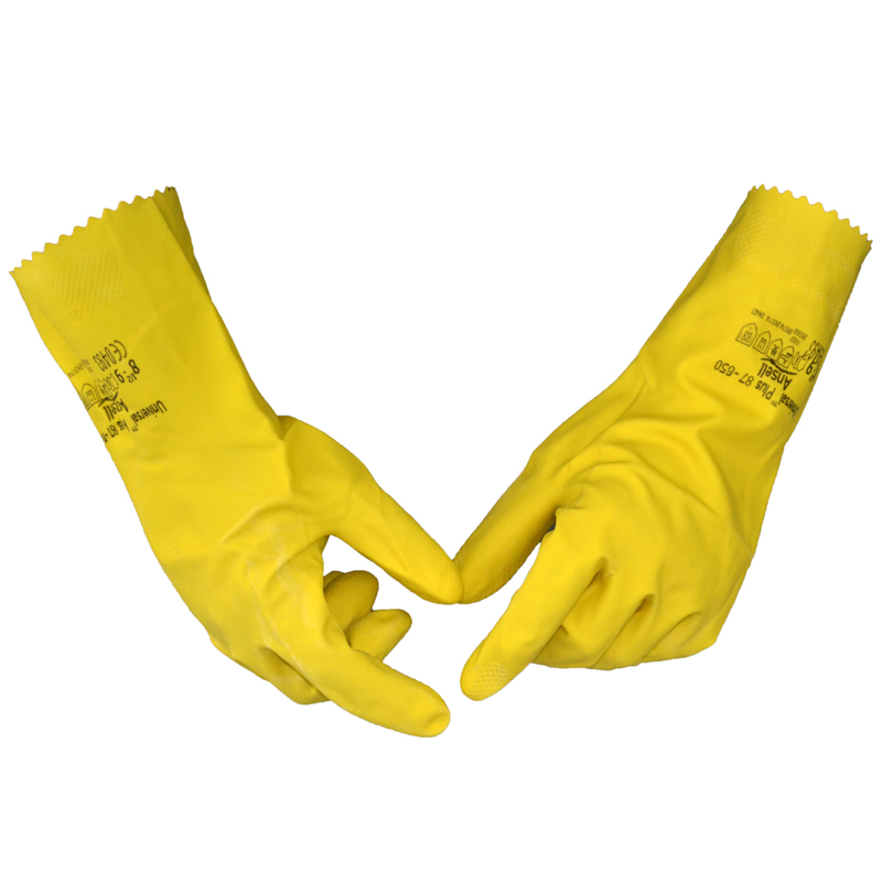 Darmowa wysyłka 3 pary długości 30,5 cm żółta rękawica - Zestawy narzędzi - Zdjęcie 3