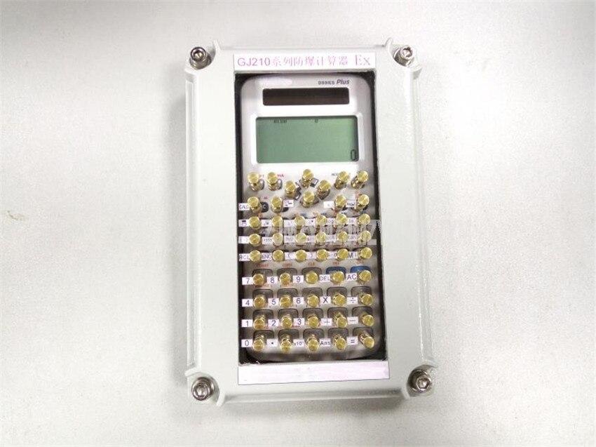 GJ210 H mini funções científicas calculadora contador