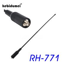 kebidumei RH-771 SMA Female Antenna Dual Band SMA-F For BAOFENG Two Way VHF/UHF Radio UV-5R UV-B5 TG-UV2 BF-888S PX-888K TK-3107
