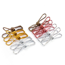 10pcs Cute Fish Clip Metal Binder Clips Notes Letter Paper Office Supplies planner folder for documents Ring binder metal clips