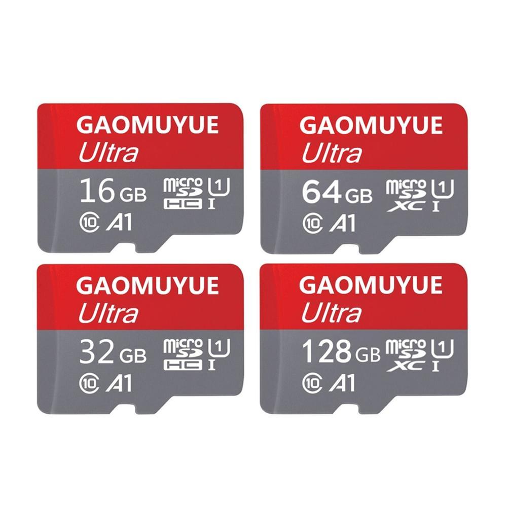 GAOMUYUE5 H2testw Full Capacity TF Cards & Microsd 16GB/32GB/64G Micro Sd Card & Memory Card 128GB 256GB Class10: U-3 V2