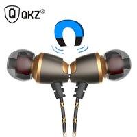 Earphone QKZ DM11 Magnetic Stereo BASS Metal In Ear Earphone Noise Cancelling Headsets DJ In Ear