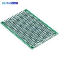 10Pcs Prototype PCB Board Protoboard Tinned Universal Breadboard Prototyping Solderless FR4 PCB Double Sided 5x7 cm 50x70mm FR4|fr4 pcb|fr4 pcb boardfr4 board -