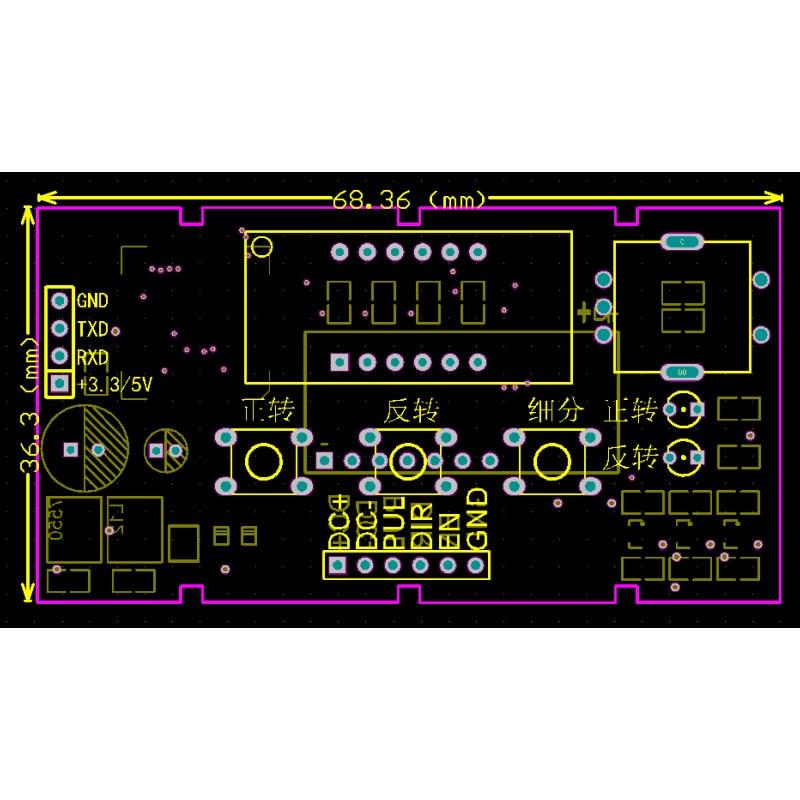 Image 5 - Stepper Motor Driver Control Board Reversal/Pulse/Speed Regulation/Module/Speed DisplayStepper Motor   -