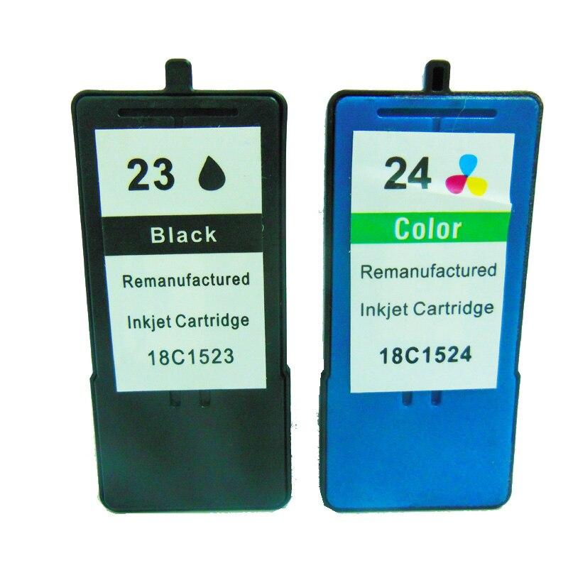 vilaxh For Lexmark 23 24 Ink Cartridge Z1420 X4550 X3550 Z1410 X3530 X4530 Printer