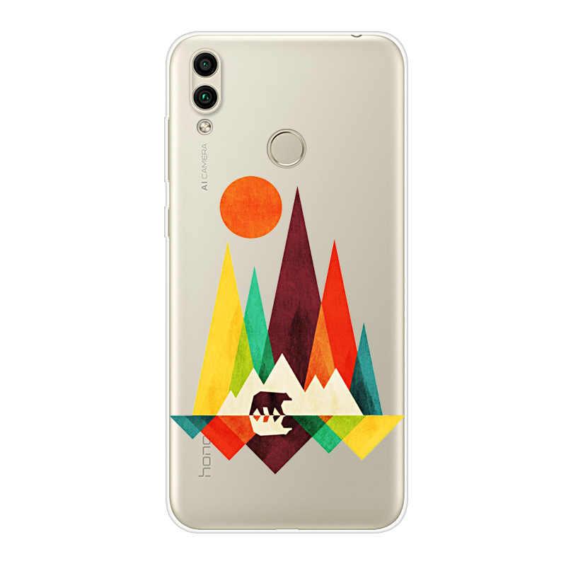Чехол для телефона huawei Honor 10 9 7 Lite Мягкий Силиконовый ТПУ милый чехол с рисунком кота для huawei Honor 7A 7C 7 S 7X чехол