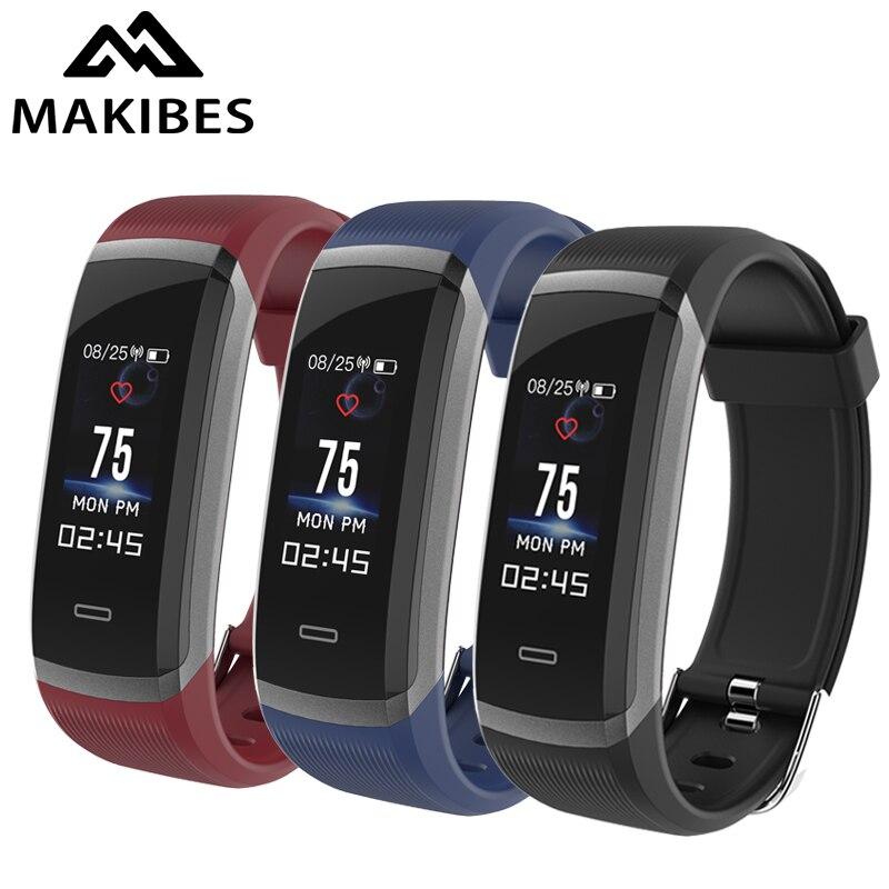 HR3 Bracelet Bluetooth Bracelet femmes hommes Continue Moniteur de Fréquence Cardiaque Fitness Tracker Étanche SmartBand pour iPhone7 Huawei