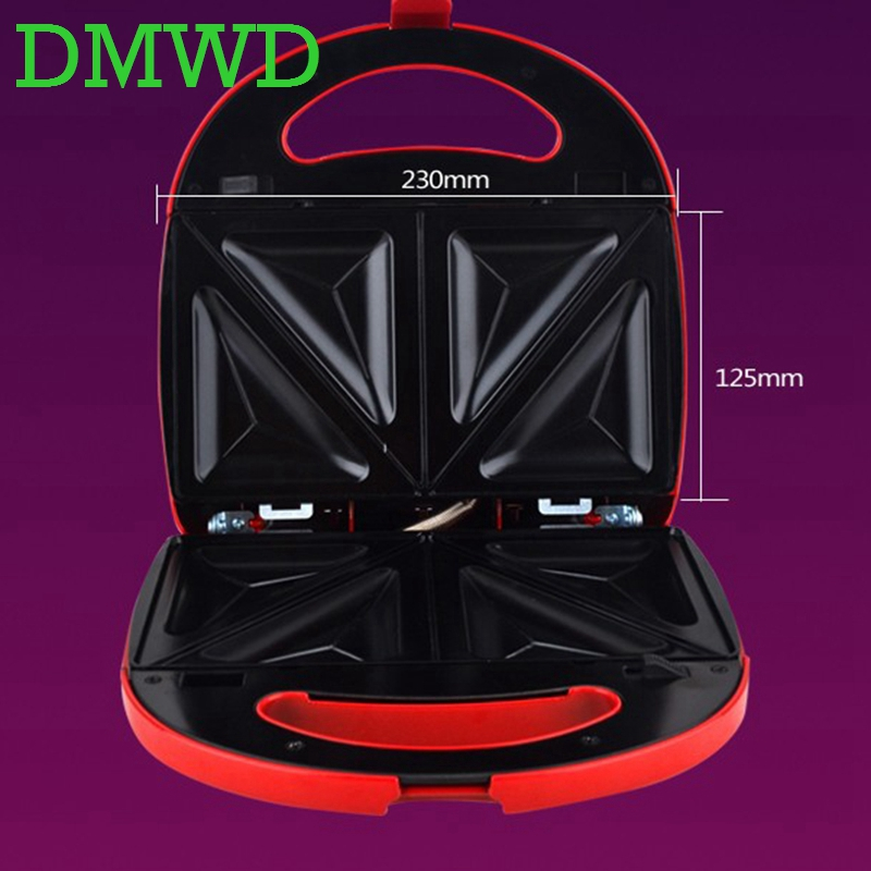 DMWD multifunction eggs sandwich maker Muffin Waffle Toaster Donuts BBQ frying pan mini Breakfast baking Machine 7 plates 110V dmwd electric waffle maker muffin cake dorayaki breakfast baking machine household fried eggs sandwich toaster crepe grill eu us