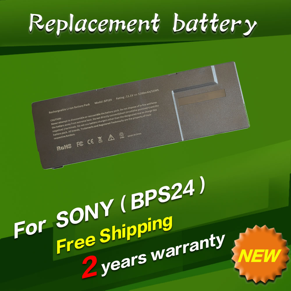 JIGU Laptop Battery For Sony VGP-BPS24 VGP-BPL24 For VAIO SA/SB/SC/SD/SE VPCSA VPCSB VPCSC VPCSD VPCSE Series 11.1V 100% warranty lcd screen display with touch screen assembly for umi x3 by free shipping