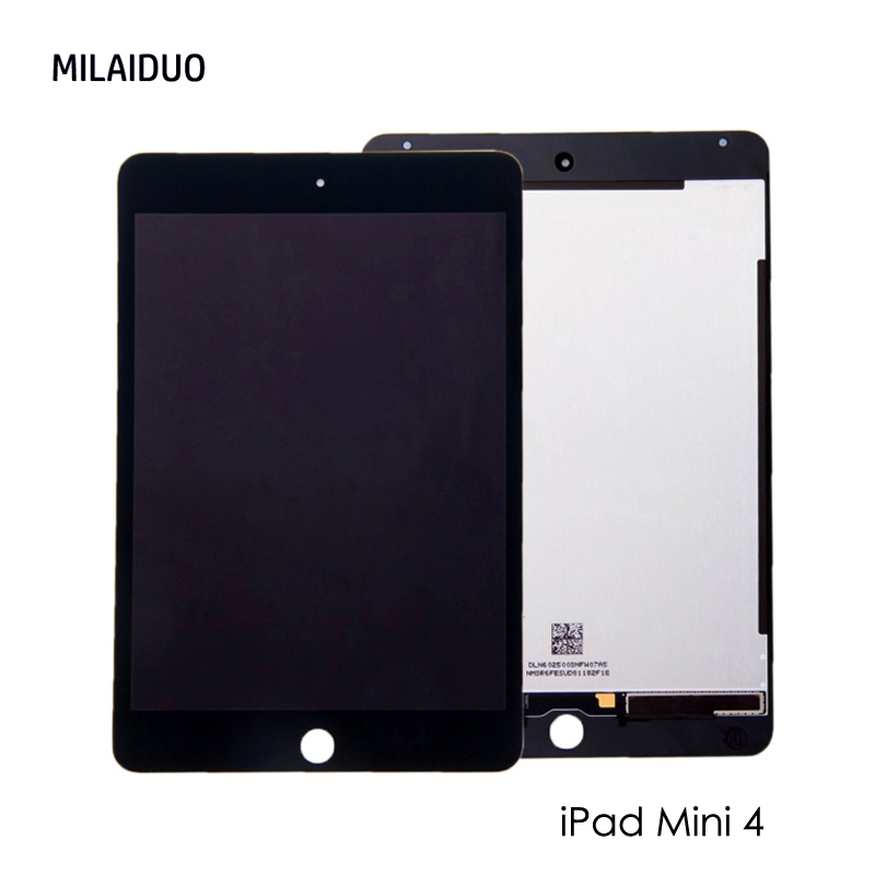New LCD Replacement For iPad Mini 4 A1538 A1550 Touch Screen Display Assembly 7.9 inch LCD Digitzer Panel Black White grassroot new 100% tested good quality lcd touch screen for ipad mini4 a1538 a1550 lcd display touch screen replacement assembly
