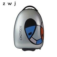 حقيبة أمتعة للأطفال حقيبة سفر بعجلات للأطفال مقاس 16 بوصة