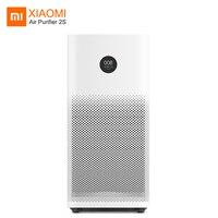 Xiaomi mi Воздухоочистители 2 S стерилизатор формальдегида Pm 2,5 детектор Сяо Ми фильтрация воздуха для домашний Гепа фильтр Smart APP Wi Fi очиститель