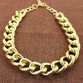 Новый стиль завод продажи мужик цепь ожерелье джин платиновая нейтральный просто шеи ожерелье