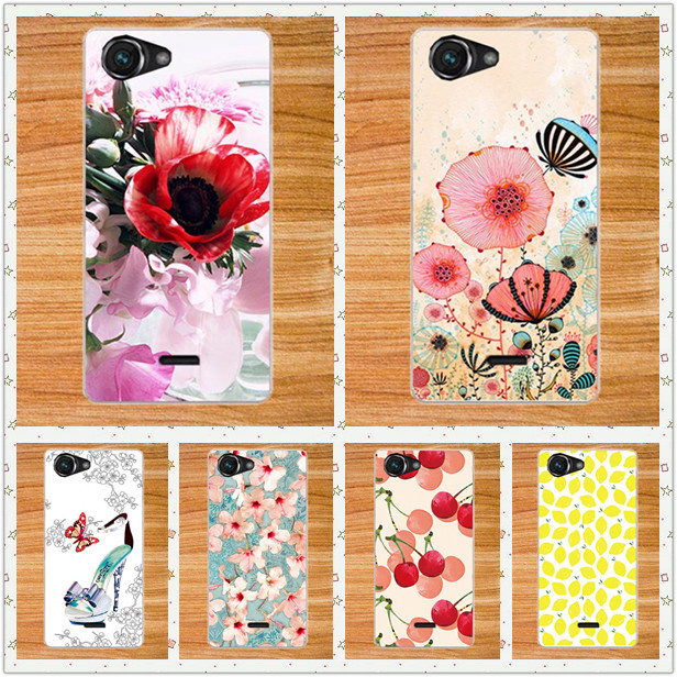 new concept 4b84e bd46f US $1.24 31% OFF|HOT Selling Fashion New DIY Painted Case For Micromax Bolt  Q338 Cover 10 Styles Phone back Case For Micromax Q338-in Half-wrapped ...