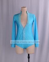 Hot Sale New Waltz Latin Dance Top Men Latin Dance Shirts Men Ballroom Dance Shirt Long Sleeve Jacket