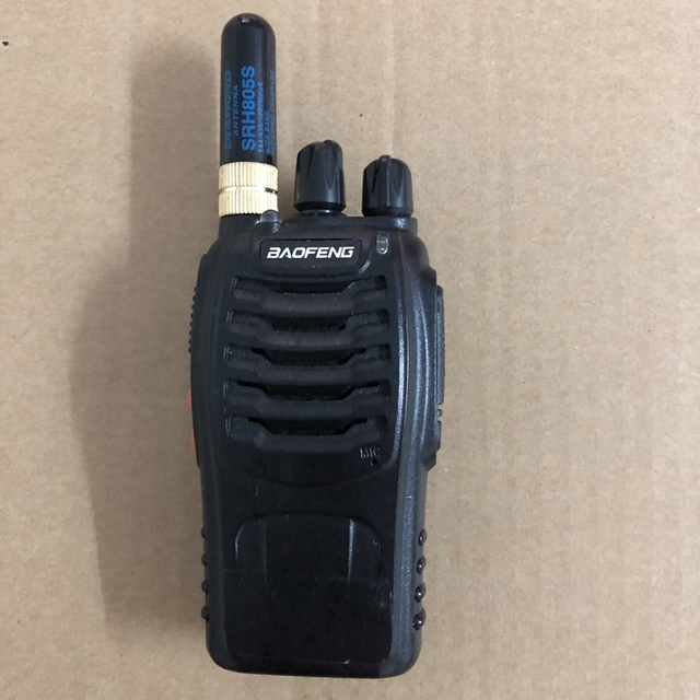 SRH 805S antenna walkie talkie SMA F antenna144/430/1200MHz for baofeng uv 5R uv 82 DM 5R plus two way radio accessories